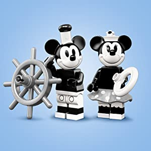 71024 New Lego Disney Minifigure Series 2 - Vintage Mickey coldis2-1