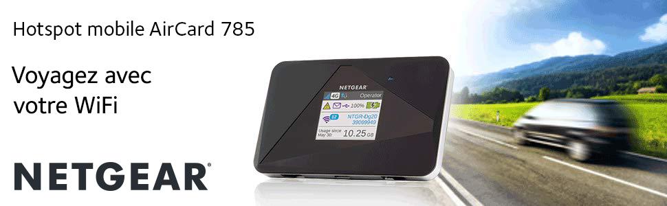 Netgear Hotspot mobile AirCard 785 -- Voyagez avec votre WiFi