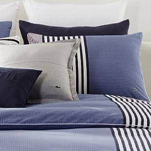 lacoste comforter; striped comforter; lacoste duvet; striped duvet; blue comforter; blue duvet