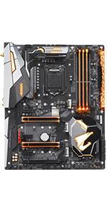 motherboard, gigabyte, aorus, z370, gaming, intel, lga 1151, atx, aorus gaming, z370 motherboard