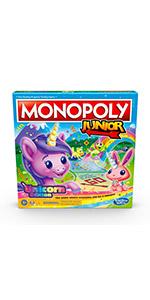 monopoly junior unicorn edition