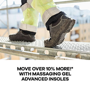 Replacement Inserts w//Adaptive Arch/&Gel Inserts NEWInsoles for Men/'s Work Boots