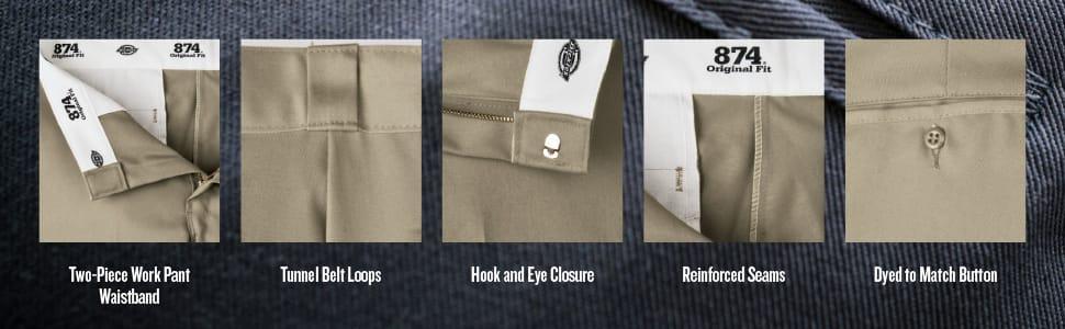 work pant, Dickies, Carhartt, stain release pant, Twill pant, mechanic pant, original fit, 874