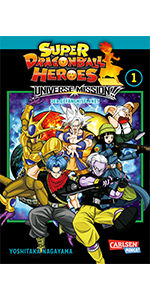 Cover Super Dragon Ball Heroes Universe Mission Band 1
