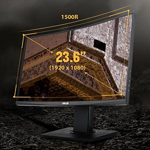TUF Gaming VG24VQ Curved Gaming Monitor