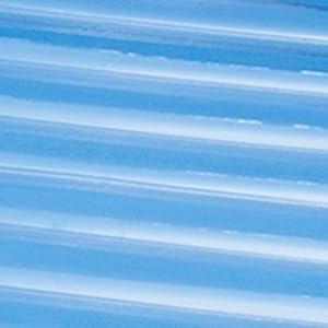 Intex - Saltador hinchable, transparente y con aros, 182 x 86 cm ...