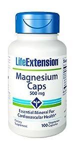magnesium supplement, magnesium capsules