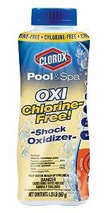 salt pool shock, cloudy salt pool, chlorine free pool