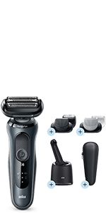 Braun Series 6 60-N7650cc Afeitadora Eléctrica, máquina de afeitar ...