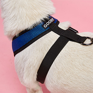 breathable soft mesh harness
