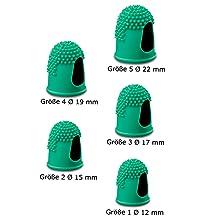 Läufer Blattwender thermoplastisches Kautschuk grün Größe 1 Zählen Blättern