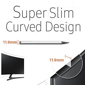 Samsung C24f390f 61 Cm Curved Monitor Computer Zubehör