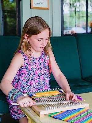 Amazon Com Harrisville Designs Lap Loom Kit Hand Weaving
