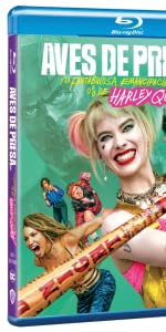 birds of prey blu ray aves de presa harley queen