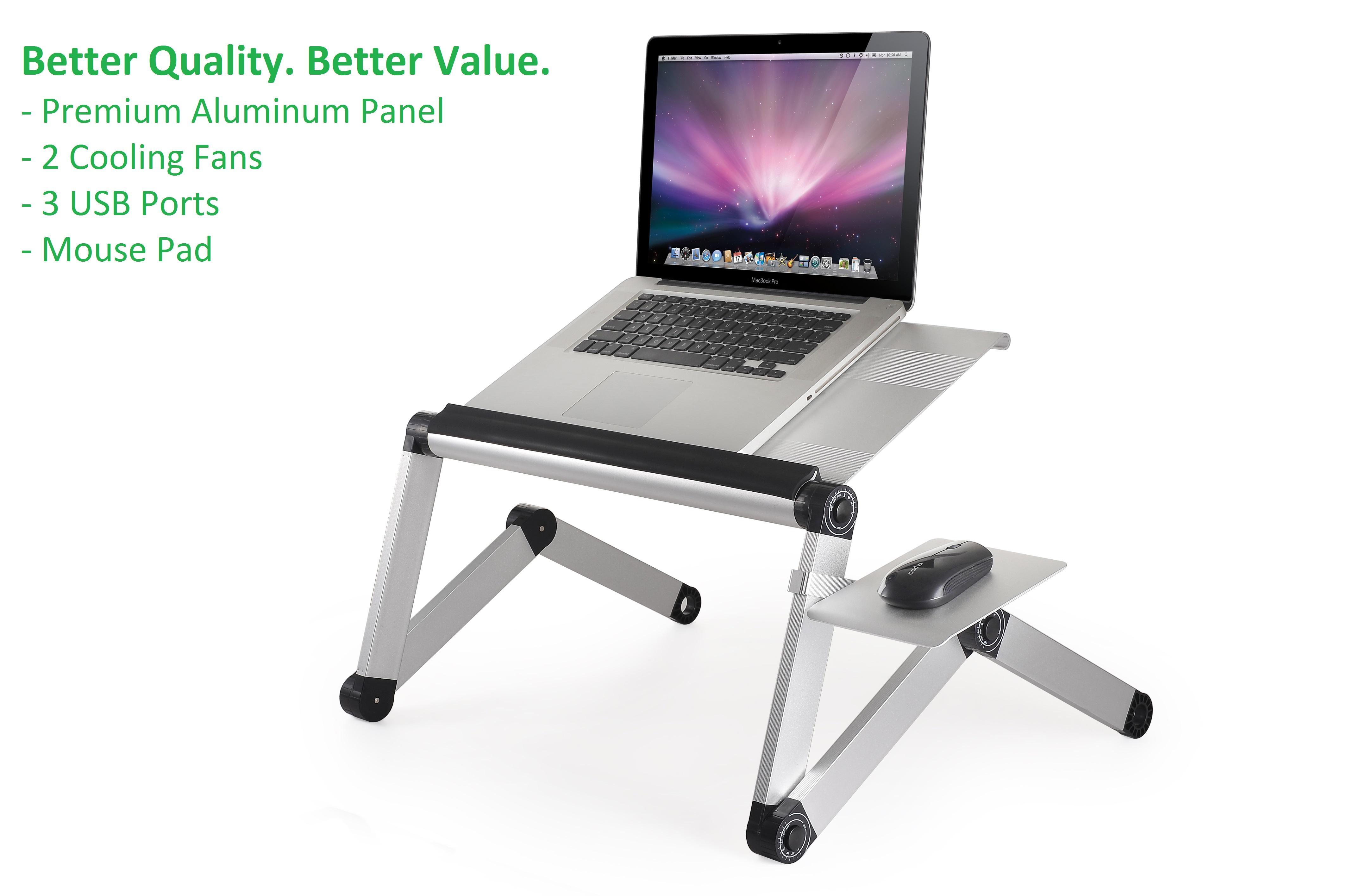 Workez Cool Adjustable Height Amp Angle Ergonomic Aluminum