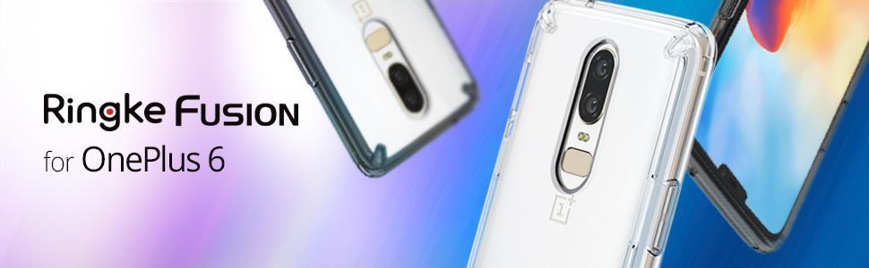 husa Ringke Fusion pentru OnePlus 6
