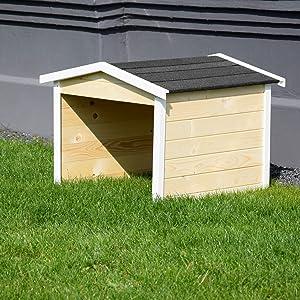 Dobar 56198e Mähroboter Garage Aus Holz Rasenroboter Carport