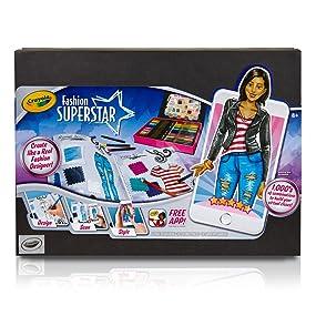 Crayola Fashion Superstar Designer
