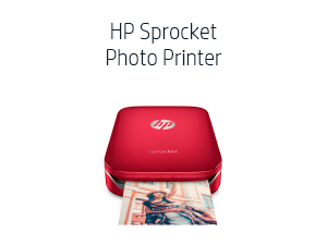 Amazon.com: HP Sprocket Portable Photo Printer, Print Social ...
