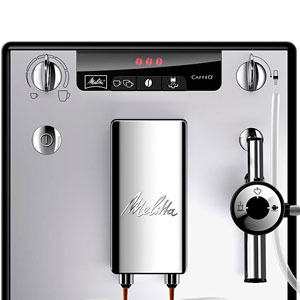 Melitta Caffeo Solo&Perfect Milk E957-103, Cafetera Automática con Molinillo, Auto Capuchinador, 15 Bares, Café en Grano, Limpieza Automática, Personalizable, Plata: Amazon.es: Hogar