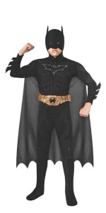 Boy's Deluxe Batman Costume