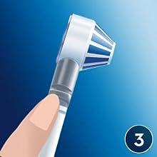 Oral-B OxyJet - Sistema de limpieza irrigador + cepillo de dientes eléctrico recargable PRO 3000