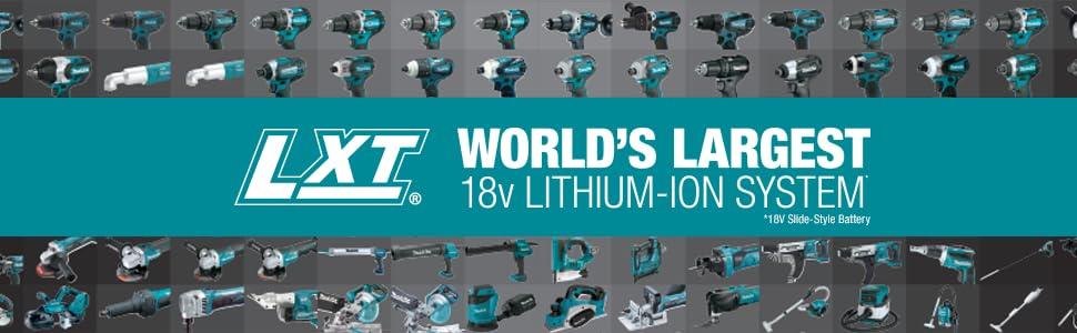 LXT;lithium-ion;battery;star protection;18 volt;36 volt