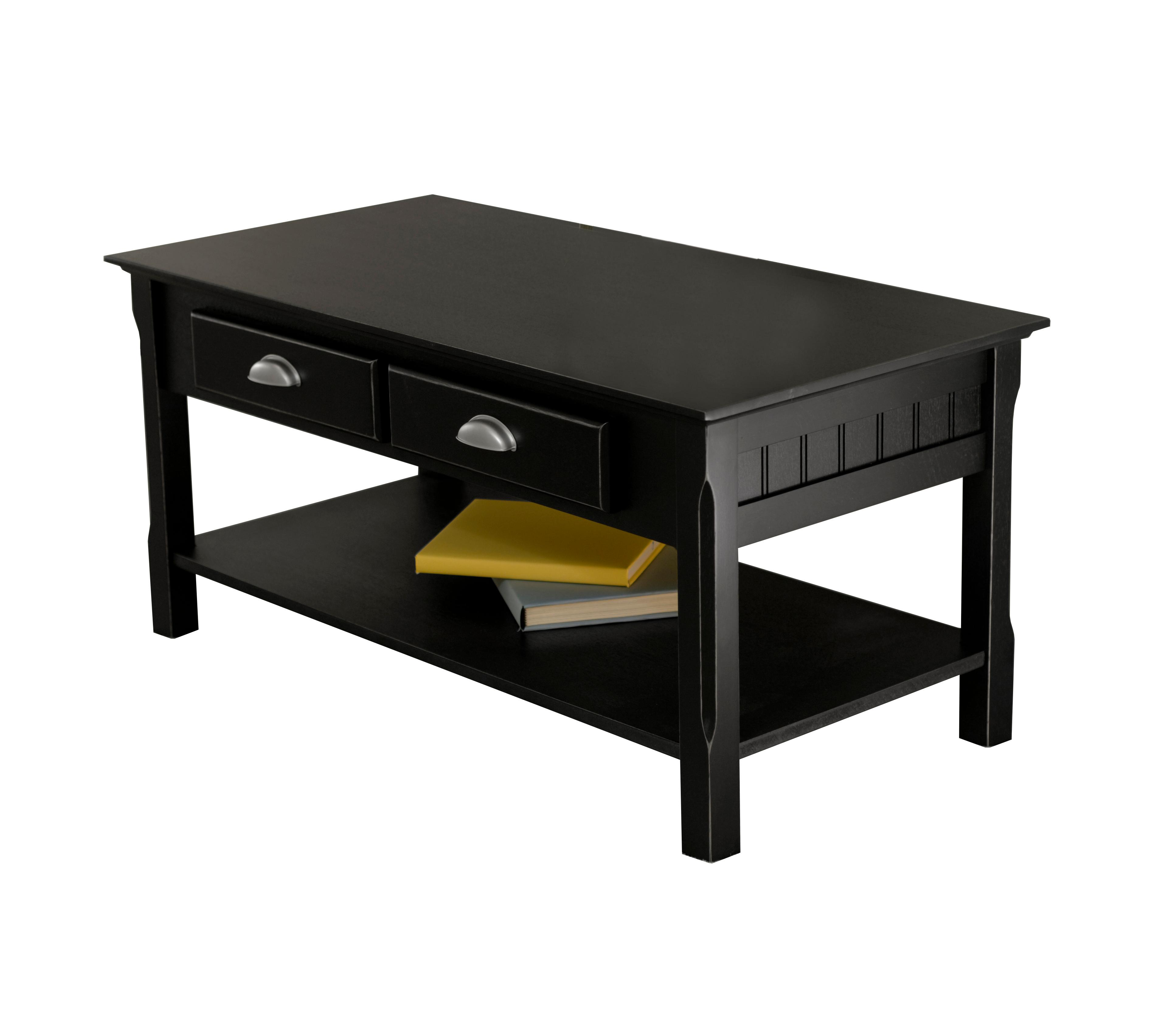Amazon.com: Winsome Wood Black Coffee Table: Kitchen & Dining