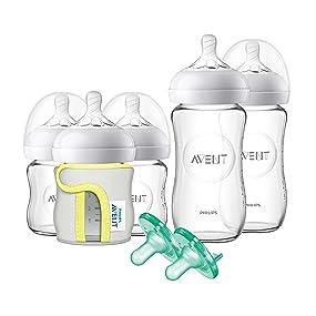 Philips Avent Natural Glass Newborn Starter Set