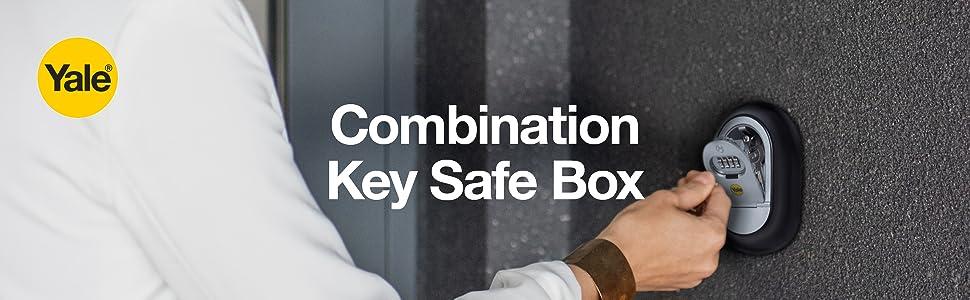 Combination Key Safe Box