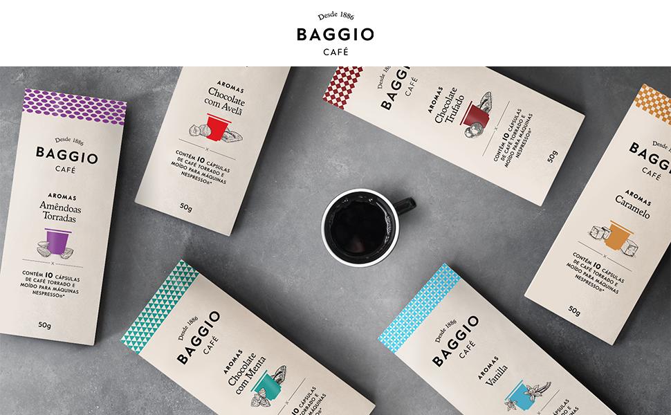 Cápsulas Baggio Café
