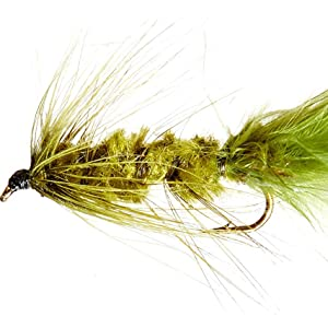 Mixed 8//10 Fishing Flies Woolly Bugger Trout Flies 8 Pack Pink Woolly Buggers