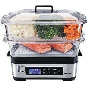 Steba, cuiseur vapeur, cuisson saine, légumes, goût, DG 2.