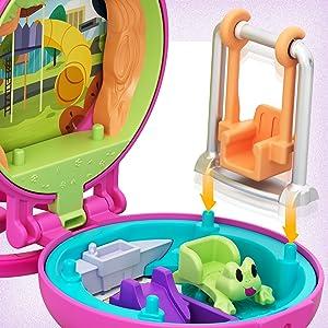 multi-colore Polly Pocket GKJ42 piccolo compatto