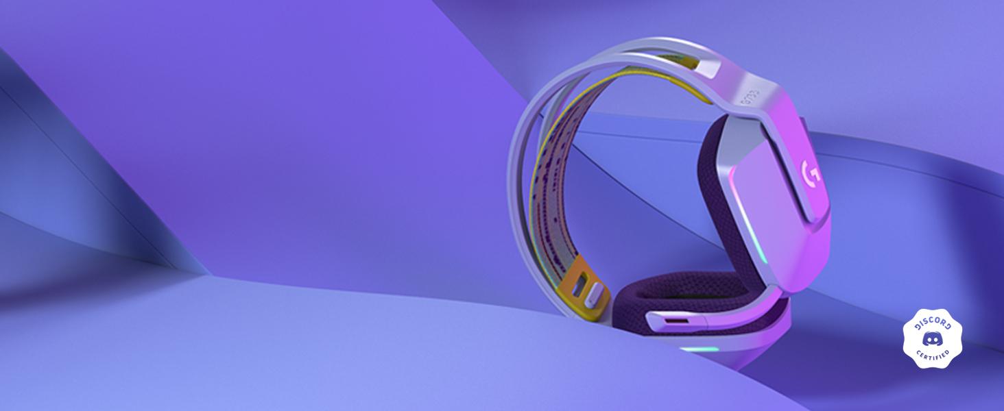 Amazon.com: Logitech G733 Lightspeed Wireless Gaming Headset with Suspension Headband, Lightsync RGB, Blue VO!CE mic technology and PRO-G audio drivers - Black: Computers & Accessories