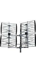 Amazon Com Xtreme Signal Hdb8x Ni 8 Bay Vhf Uhf Hdtv
