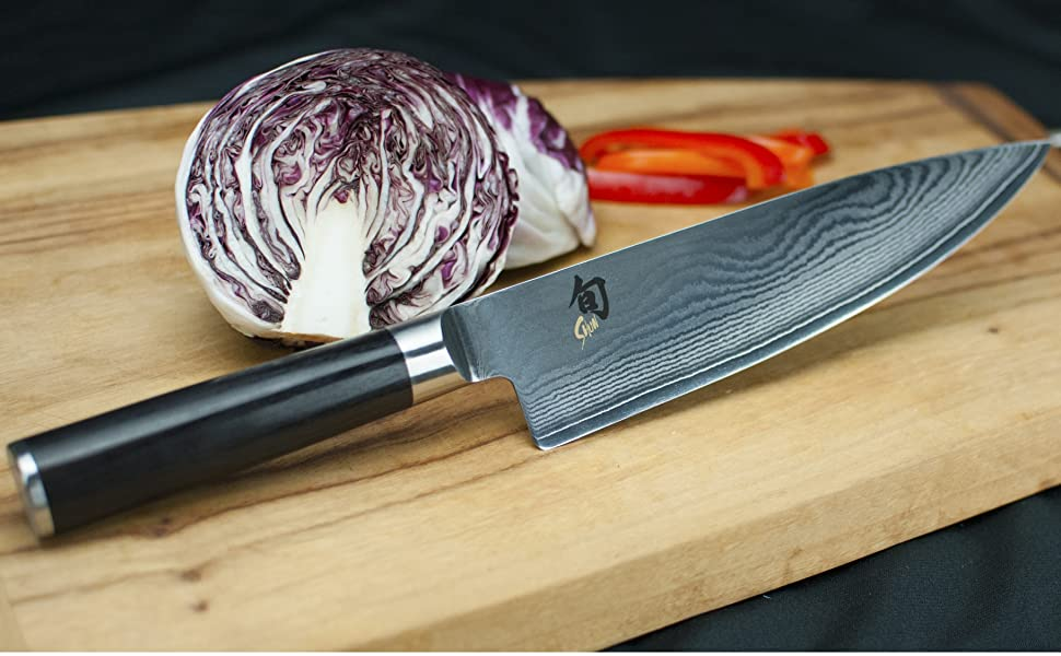 shun classic, classic chef knife, shun chef knife, classic knifes