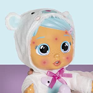 spots; light up doll
