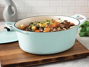 cookware, cast iron, dutch oven, cast iron dutch oven, le creuset, casserole