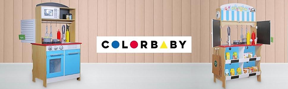 WOOMAX - Heladería con Cocinita de madera (ColorBaby 85290 ...