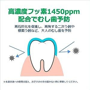GUM フッ素 虫歯