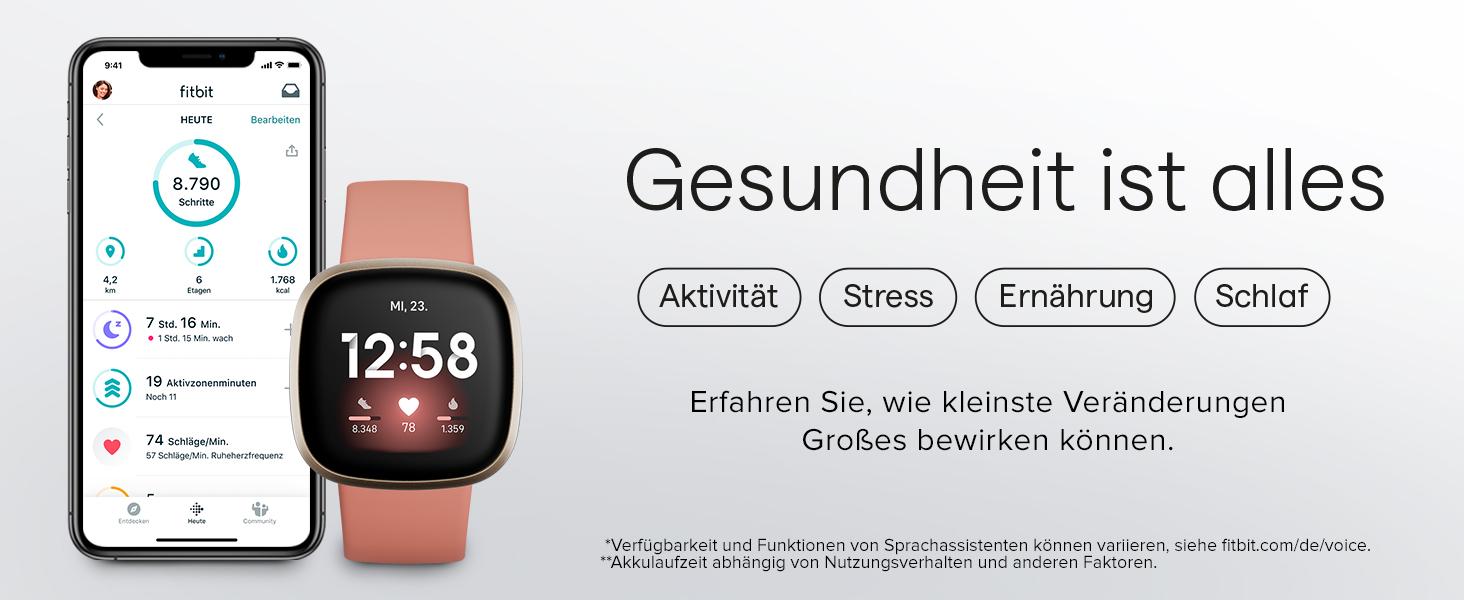 smartwatch damen, fitnessuhr, smartwatch herren, fitnessuhr damen, uhr herren, fitbit, fitbit versa