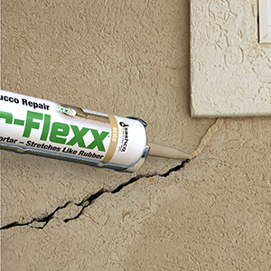 Stucco repair caulk