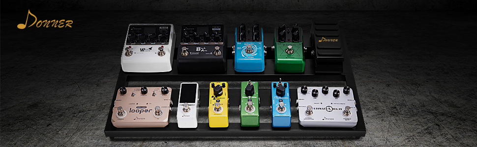 donner pedal board