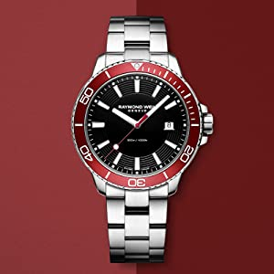 7fb10013b5a Amazon.com  Raymond Weil Men s Tango 301 Quartz Watch with Stainless ...