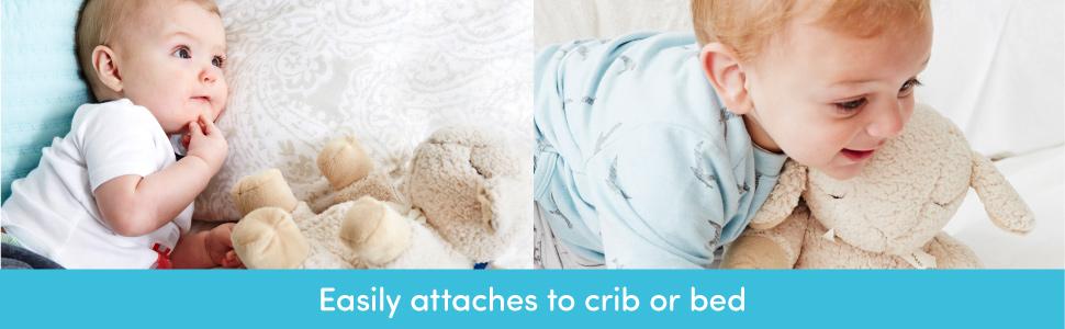 Cloud b Velcro Attach Crib Bed Nursery Gear Sleep Sheep