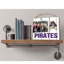 East Carolina Pirates Clip It Weathered Logo College Photo Frame