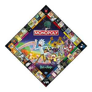 rick and morty, monopoly, hasbro, regali, gioco da tavolo, giochi, presente, gioco da viaggio