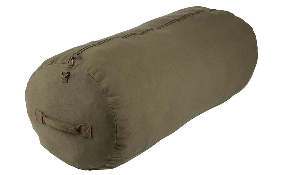 stansport military zippered duffel bag
