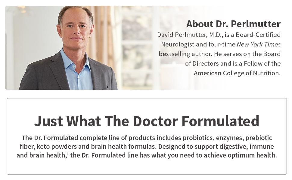 Dr. Perlmutter, Dr. Formulated Line